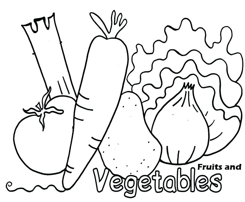850x700 Vegetable Coloring Vegetable Fruit Coloring Pages Coloring Books