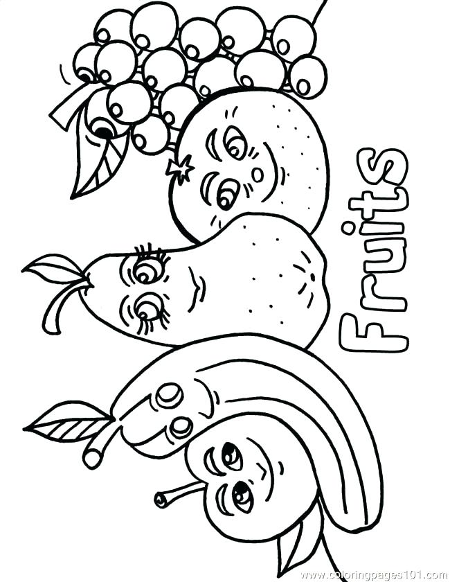 650x840 Vegetable Coloring Page Green Vegetable Coloring Page Vegetable