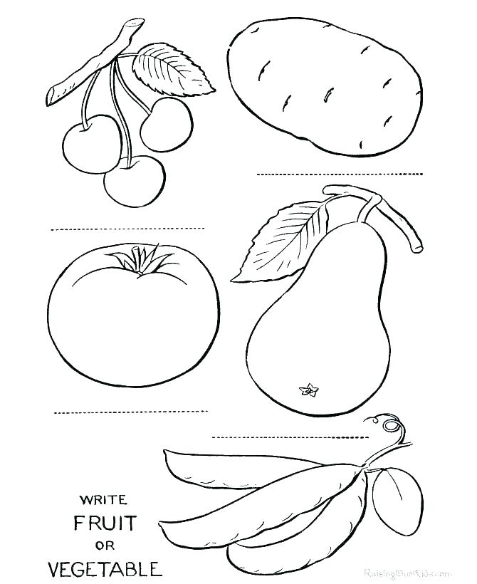 670x820 Printable Vegetable Coloring Pages Vegetable Garden Coloring Pages