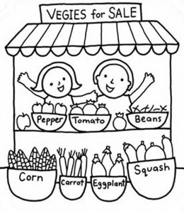 260x297 Kids Gardening Coloring Pages Free Colouring Pictures To Print
