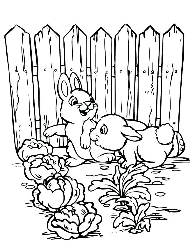 670x867 Vegetable Garden Printable Coloring Pages Kids Coloring Gardening