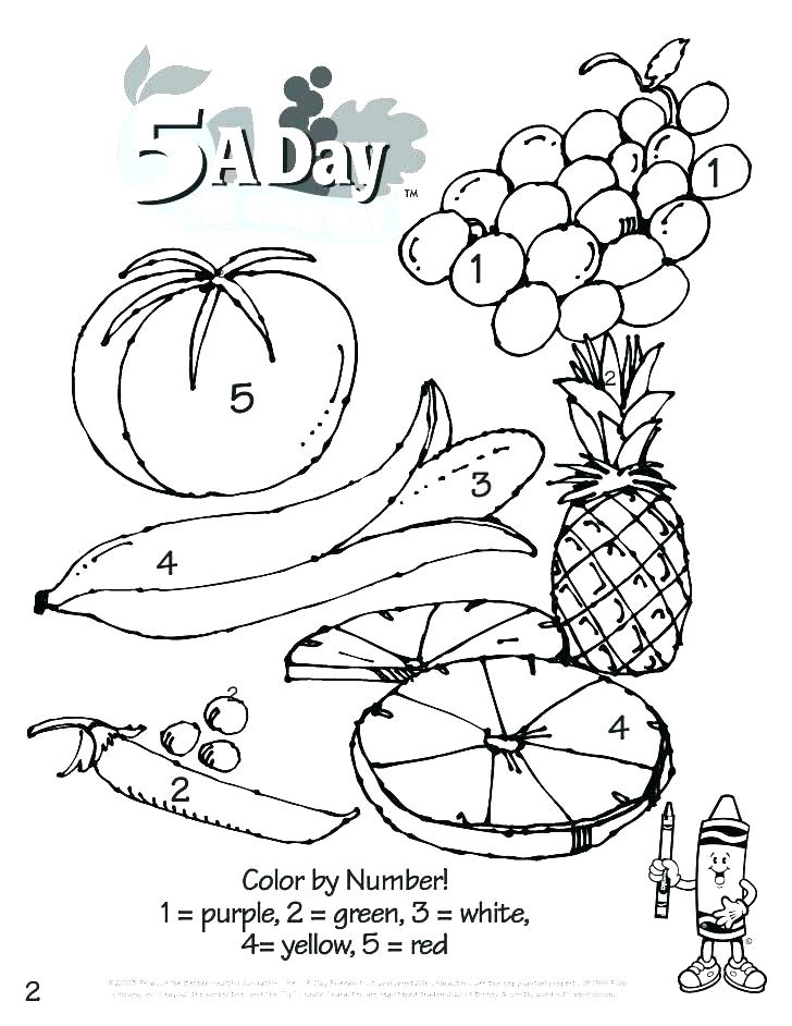 728x942 Fruit And Vegetable Coloring Pages Fruit And Vegetable Coloring