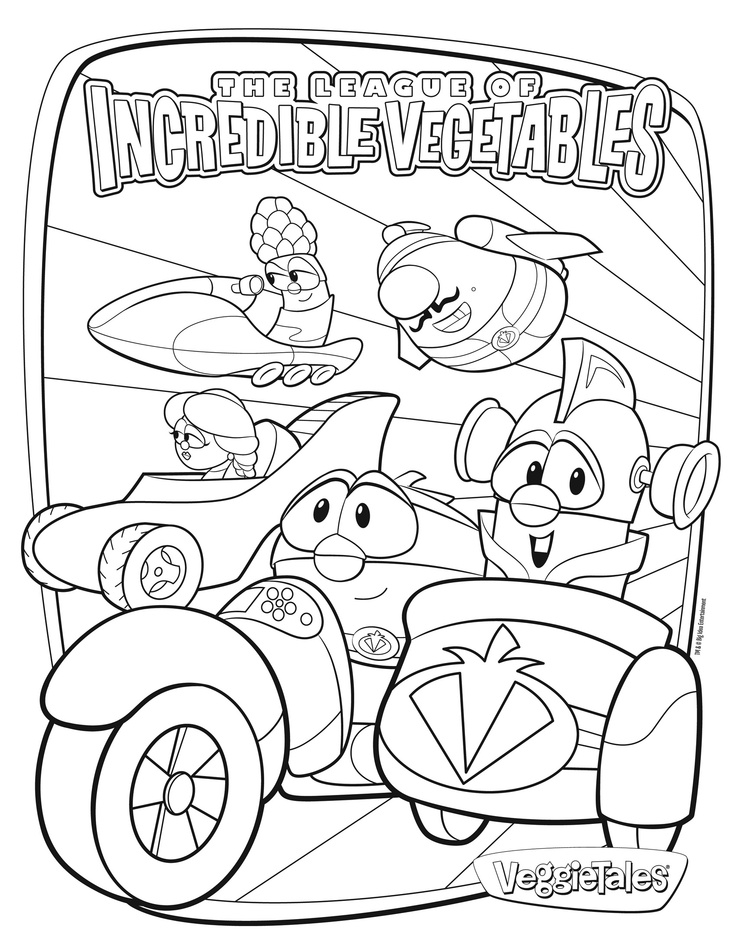 Veggie Tales Easter Coloring Pages At Getdrawings Free Download