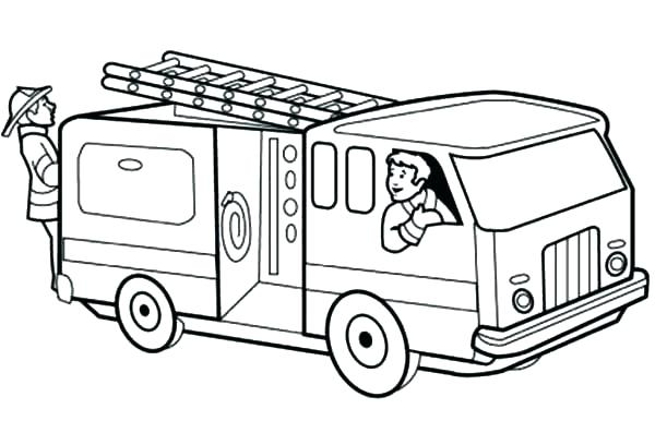 600x408 Coloring Page Truck Or Coloring Page Truck Fire Trucks Coloring