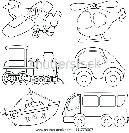 450x464 Transport Colouring Pages Printable Transportation Coloring Page
