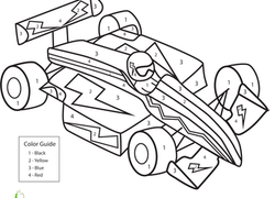 250x180 Vehicles Coloring Pages Printables
