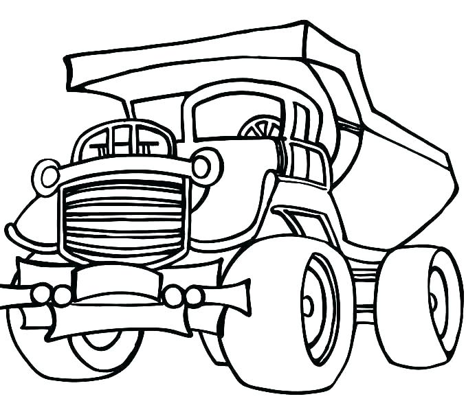 678x600 Construction Vehicle Coloring Pages