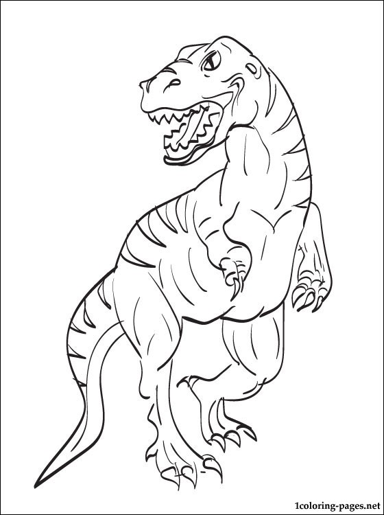 560x750 Velociraptor Coloring Page For Free Coloring Pages