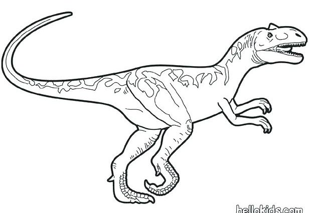 620x425 Velociraptor Dinosaur Coloring Pages Velociraptor Coloring Page