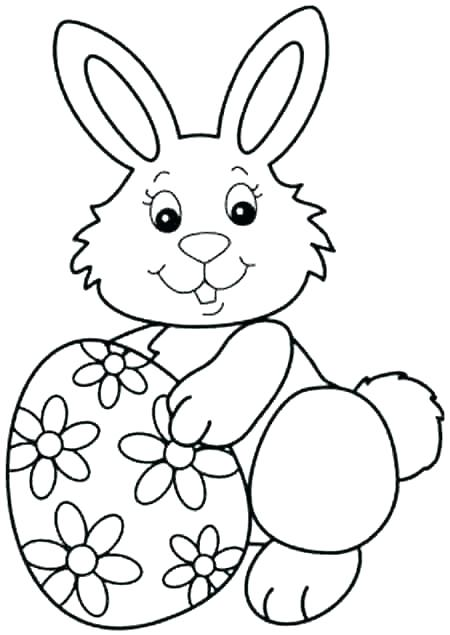 450x635 Rabbit Coloring Page Coloring Pages Of Rabbits Coloring Pages