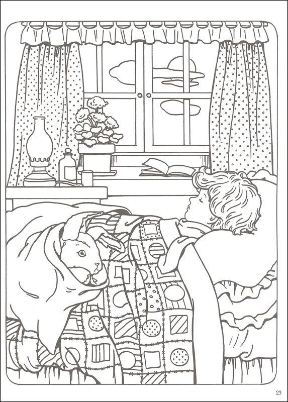 573x800 Velveteen Rabbit Coloring Book Additional Photo