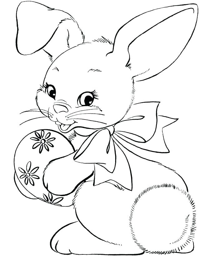 644x820 White Rabbit Color Book Plus Rabbit Color Pages Click To See
