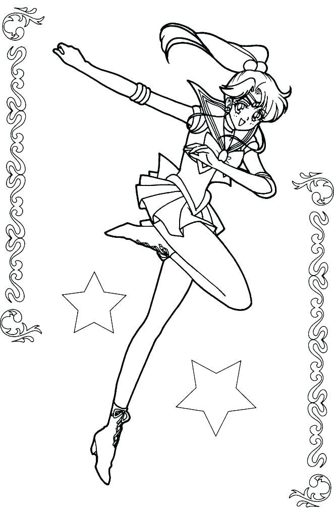 662x1024 Sailor Venus Coloring Pages Sailor Coloring Pages Sailor Coloring