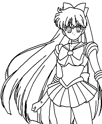 359x433 Mad Venus Coloring Page