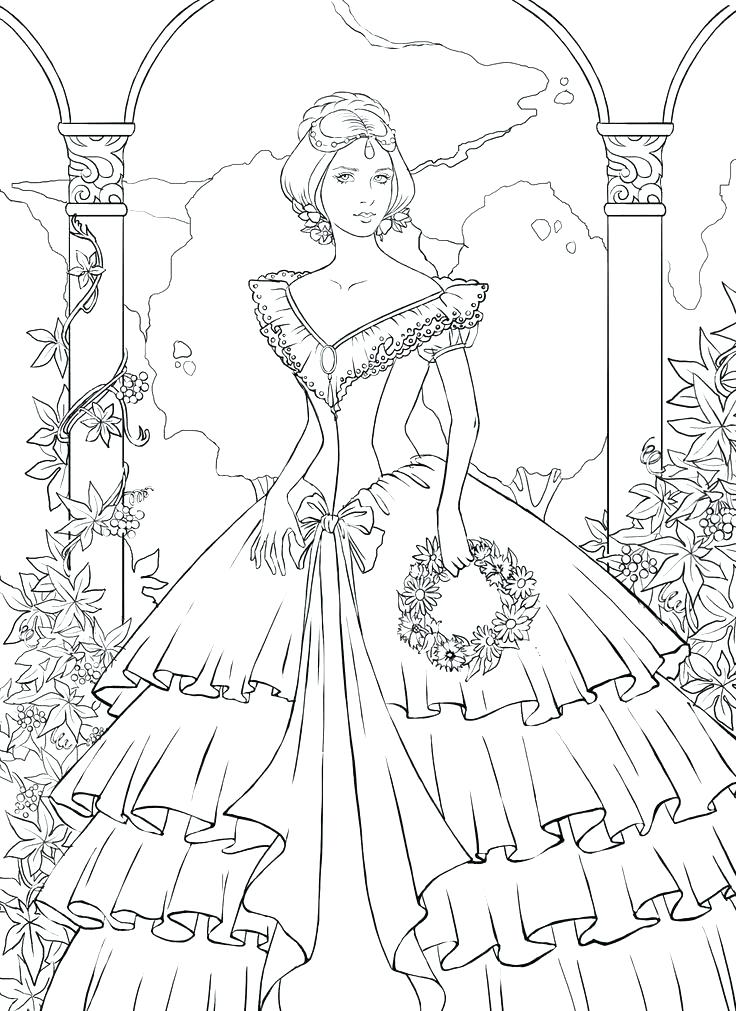 736x1011 Intricate Coloring Pages Printable