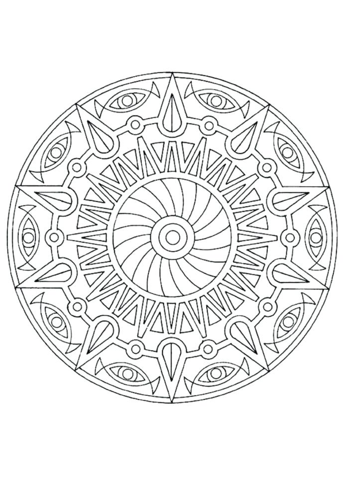 691x978 Really Detailed Coloring Pages