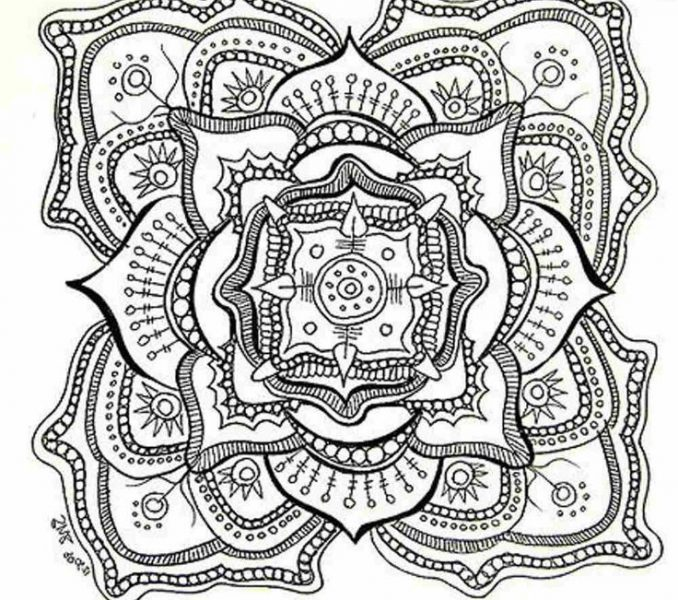 678x600 Detailed Coloring Pages Downloadable Coloring Pages Detailed