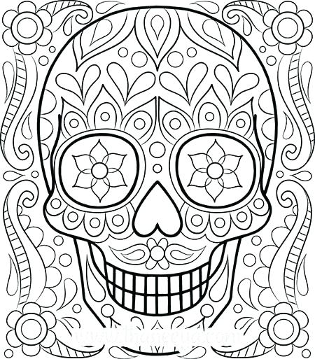 450x513 Detailed Coloring Pages For Adults Coloring For Adults Coloring