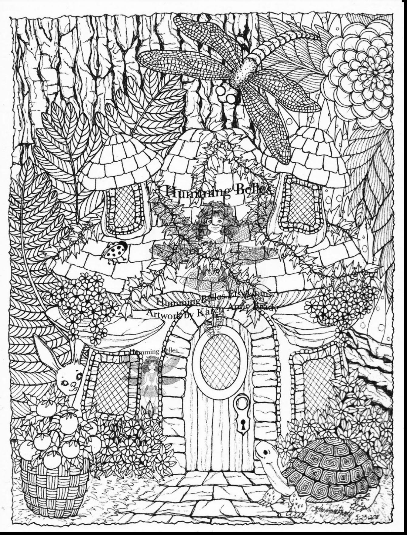 1340x1760 Free Detailed Coloring Pages