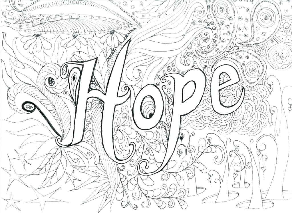 1023x745 Hard Flower To Color Free Adult Coloring Pages Detailed Flower