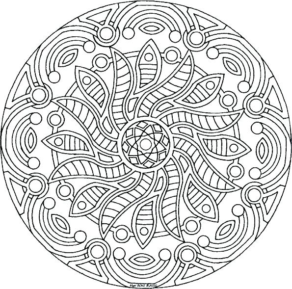 595x589 Really Detailed Coloring Pages Really Detailed Coloring Pages