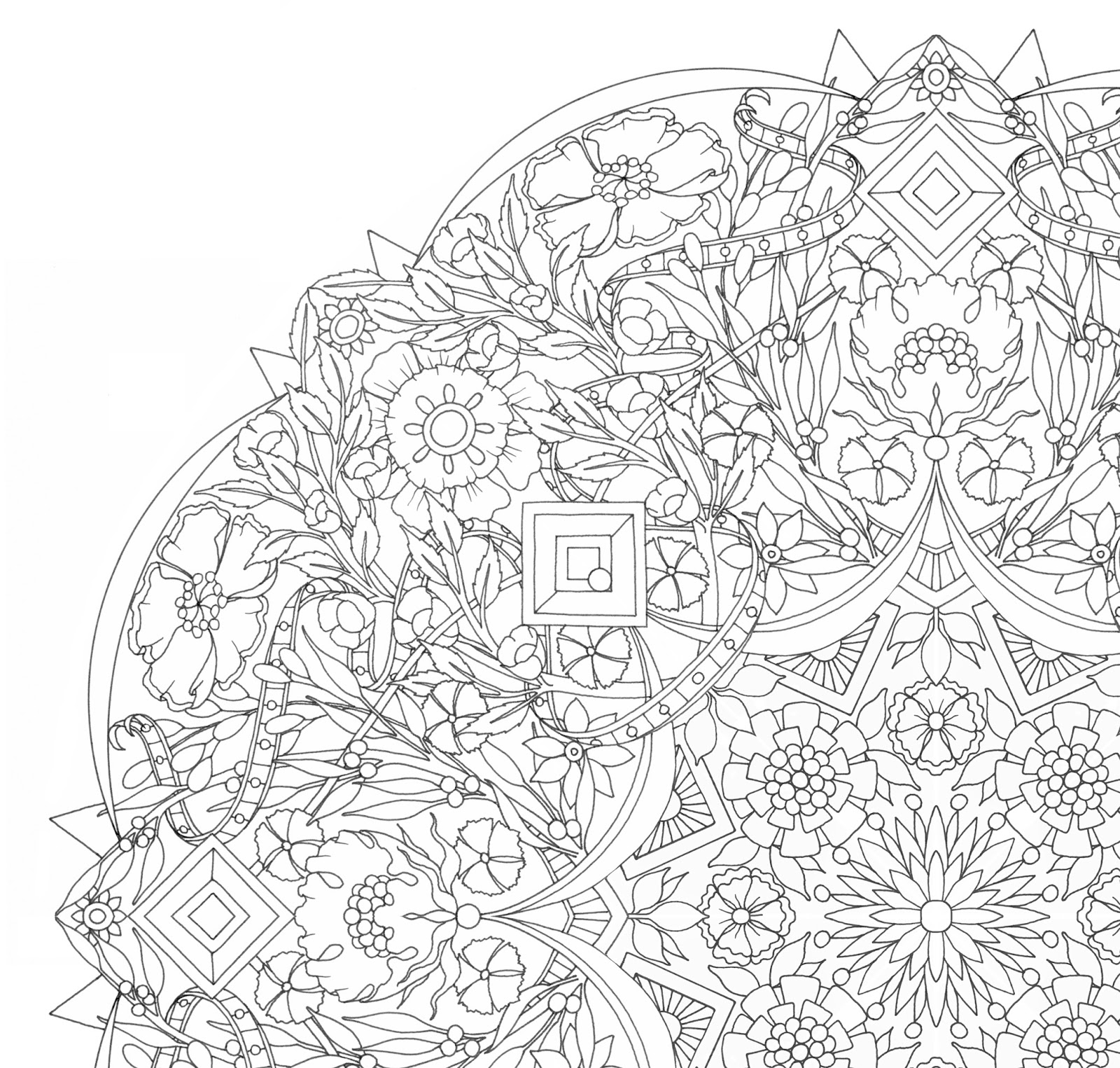 1600x1525 Very Detailed Coloring Pages