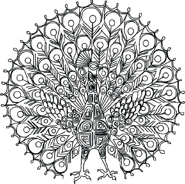 600x597 Intricate Coloring Pages Printable