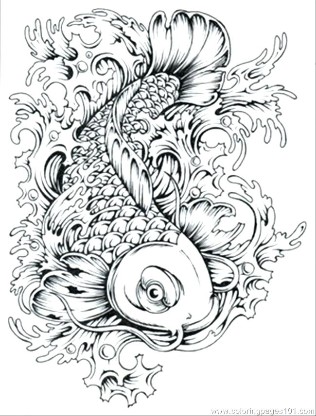 650x857 Detailed Coloring Pages To Print Pattern Animal Coloring Pages