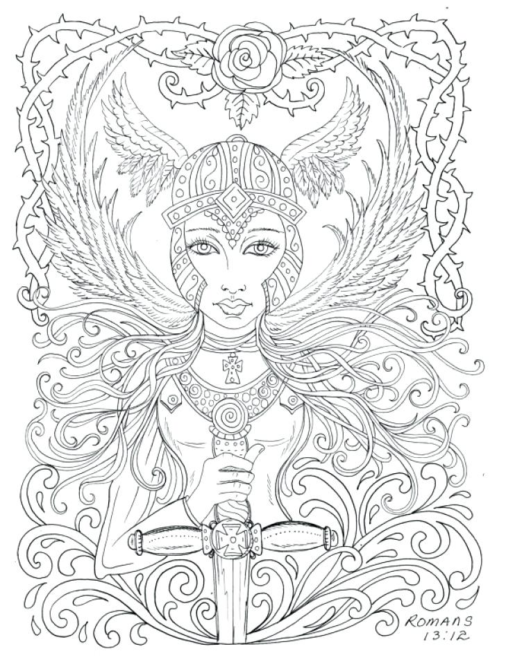 729x960 Hard Coloring Pages