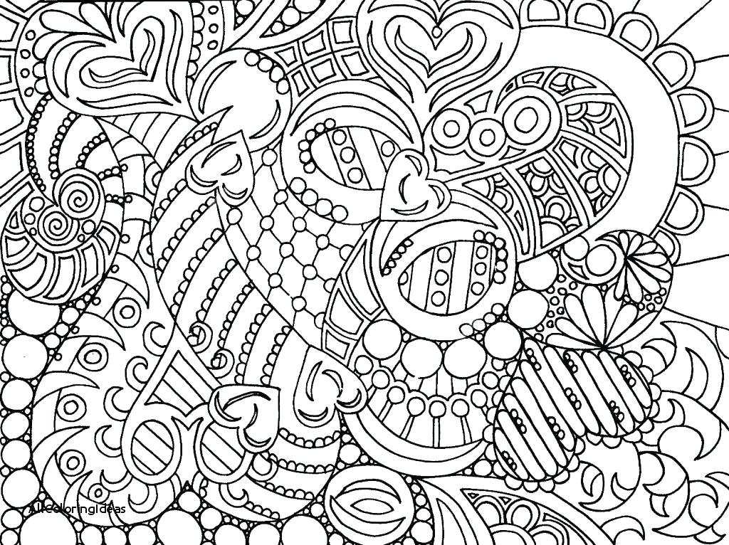 1024x766 Hard Coloring Pages Hard Coloring Pages Of Animals Very Hard