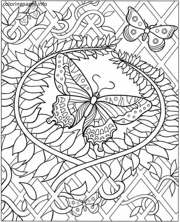 622x770 Hard Coloring Pictures Hard Coloring Pages Pdf Free Coloring Pages