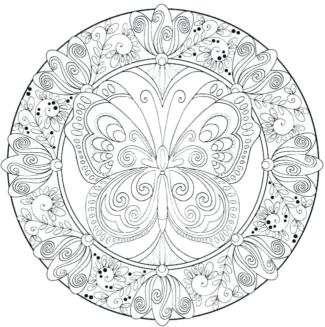 650x655 Very Hard Coloring Pages Very Hard Coloring Pages Really Hard