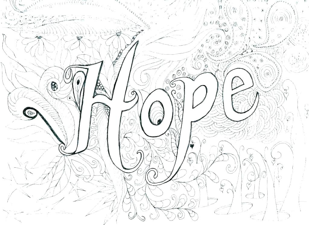 1024x746 Difficult Coloring Pages