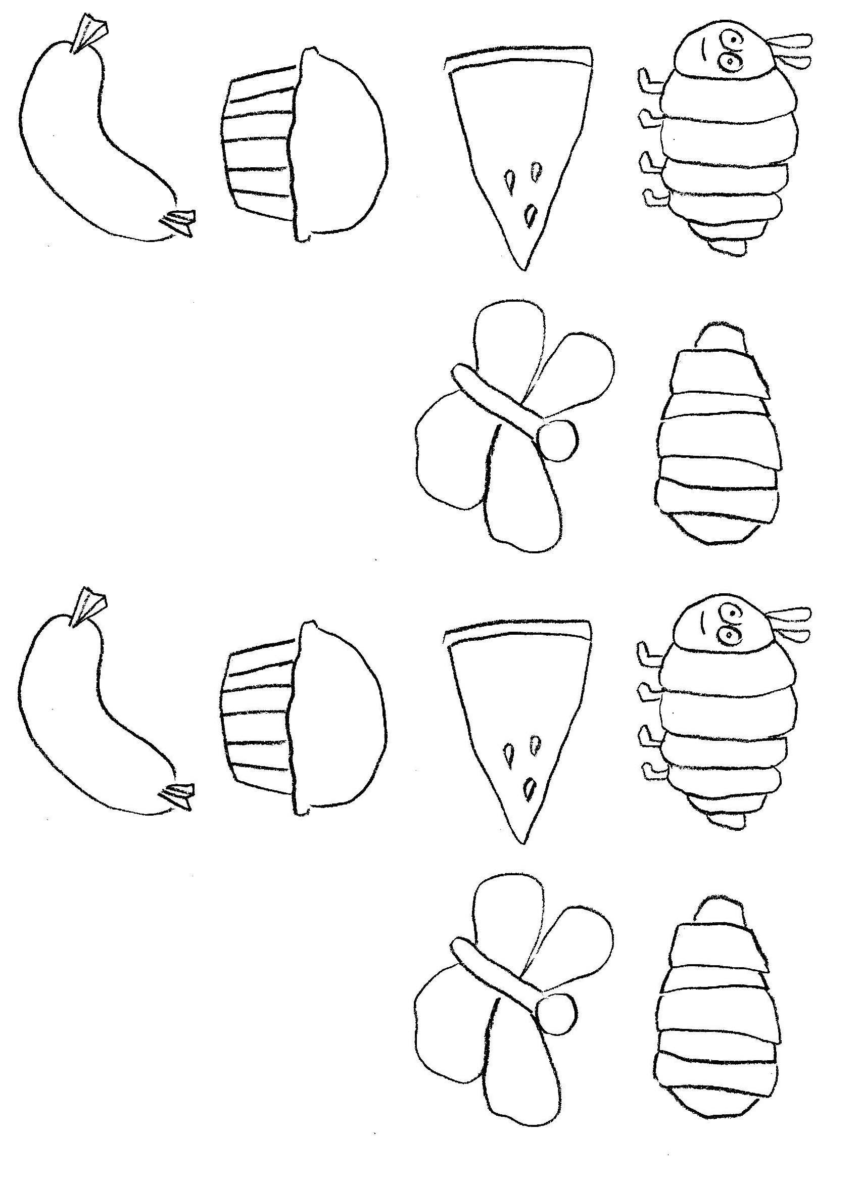 1700x2339 Very Hungry Caterpillar Coloring Pages Free Download