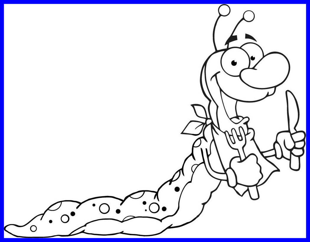 1050x820 The Best Perfect Very Hungry Caterpillar Coloring Pages Printables