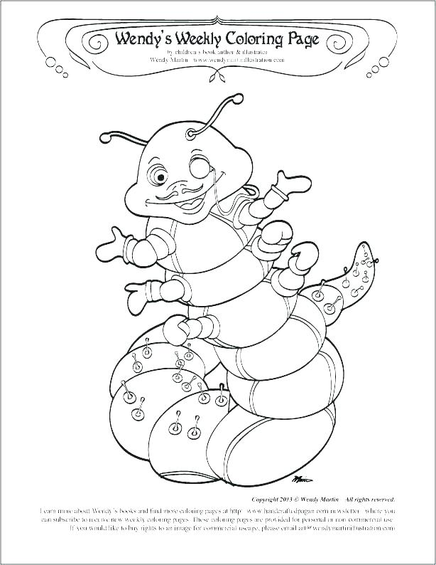 614x794 Very Hungry Caterpillar Coloring Page Hungry Caterpillar Coloring