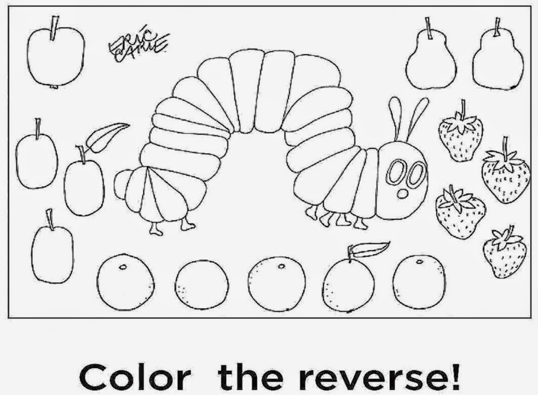 1063x780 Very Hungry Caterpillar Coloring Pagesles Pagele Amazing Page