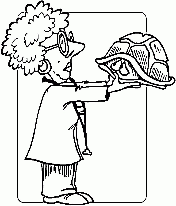 Vet Coloring Pages