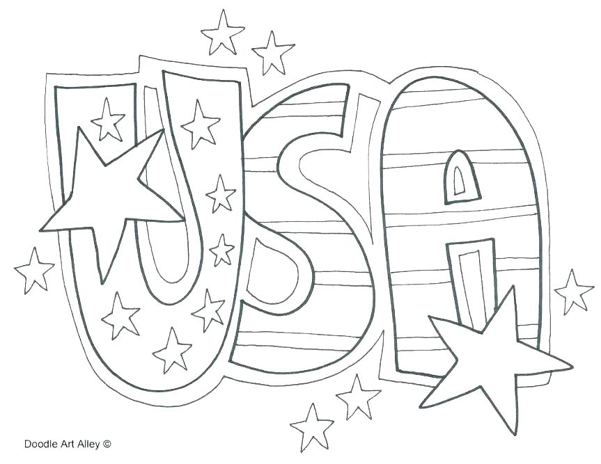 863x667 Independence Day Coloring Pages Independence Day Coloring Pages