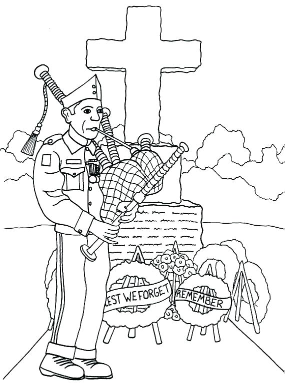 570x767 Veterans Day Coloring Page Veterans Day Coloring Page Remembrance