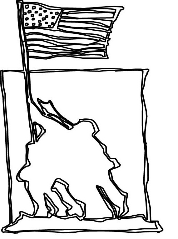 570x765 Veterans Day Coloring Pages For Kids