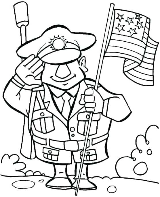 556x686 Coloring Pages Veterans Day Salute For The Veterans Who Sacrificed