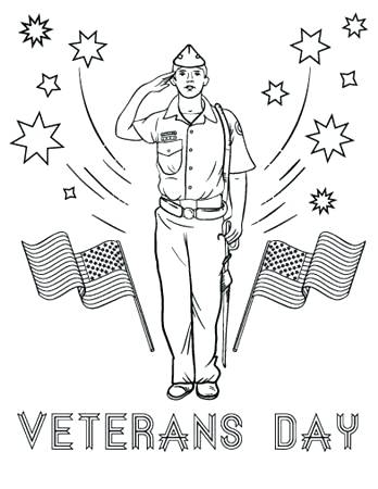348x450 Veterans Day Coloring Pages Eagle And Us Flag Celebrating Veterans