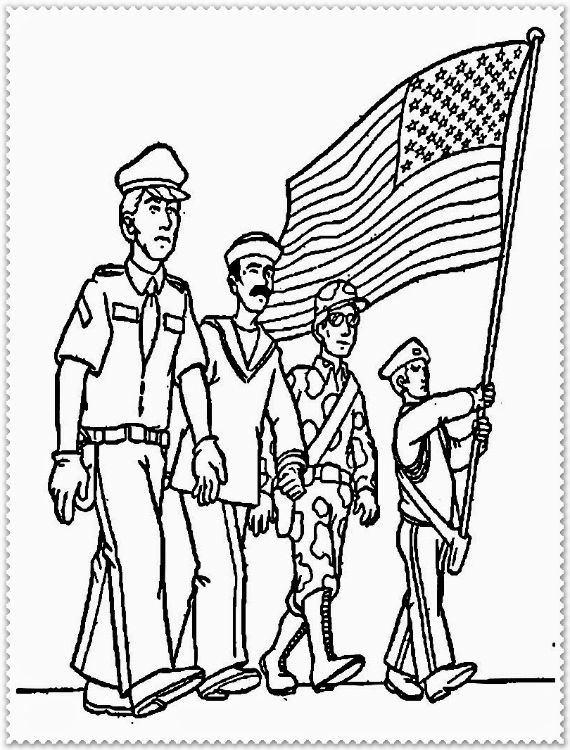 810x1066 Perfect Veterans Day Coloring Pages Printable Free Erf