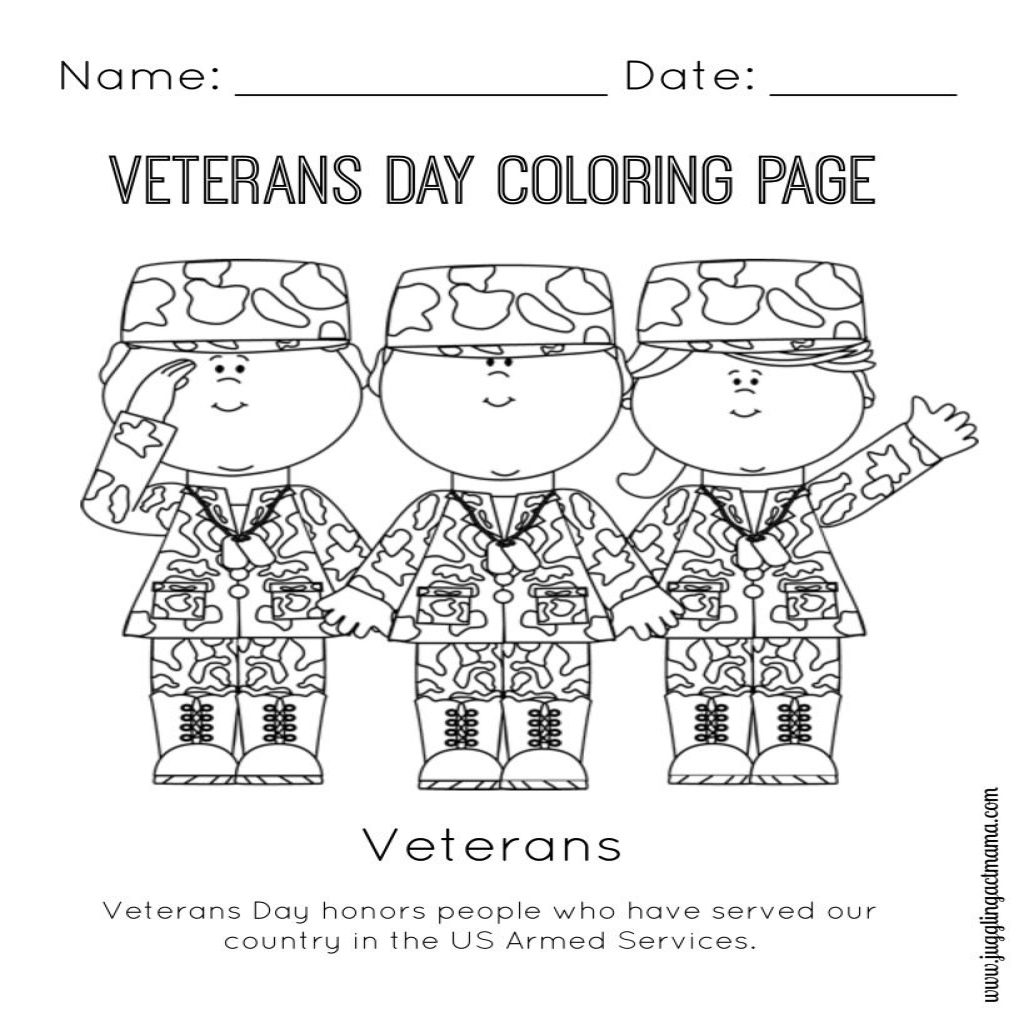 1024x1024 The The Best Veterans Day Coloring Pages Kindergarten