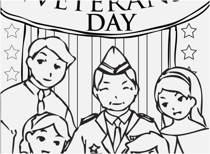 827x609 Top Rated Display Veterans Day Coloring Pages Modern