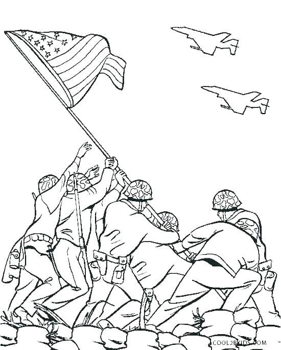 550x684 Veterans Day Coloring Pages Printable Memorial Day Coloring Pages
