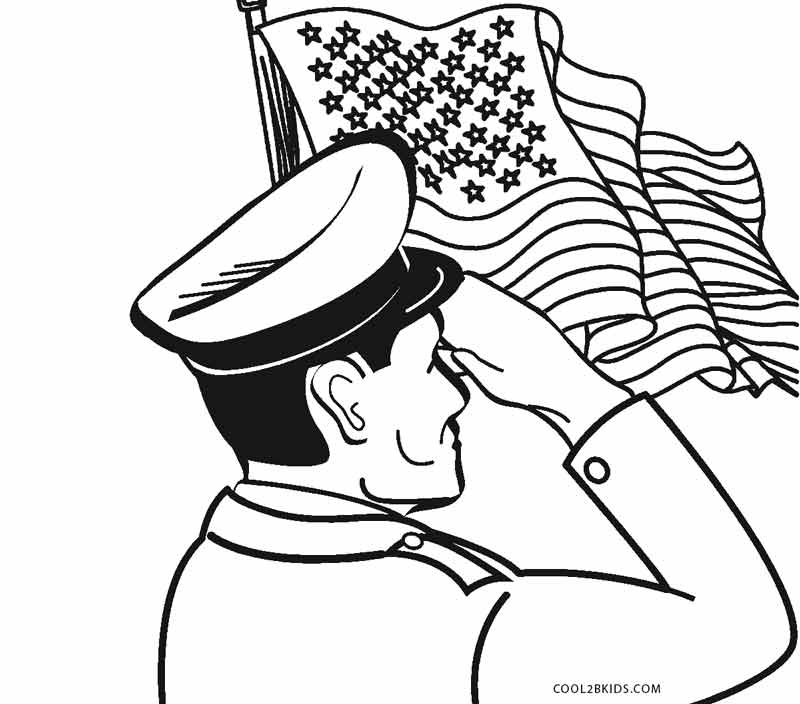 800x704 Free Printable Veterans Day Coloring Pages For Kids