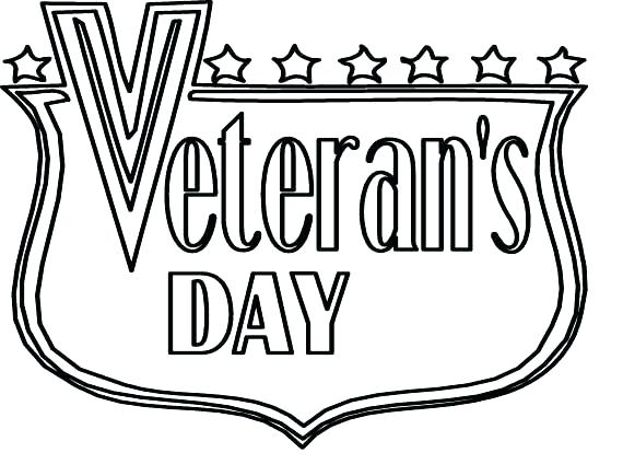 570x424 Veterans Day Coloring Pages For Kindergarten Veterans Day