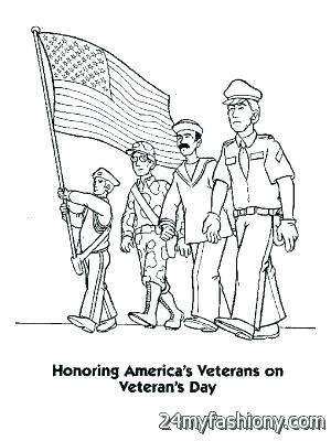 300x400 Veterans Day Coloring Pages Printable Free Veterans Day Coloring